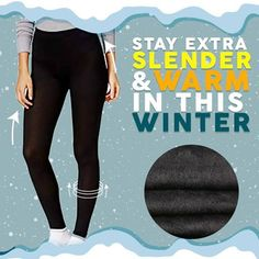 winter outfits videos Keep Warm and Shape Your Legs at the same time! Far Infrared traps warmth inside your legs while the Nanofabric Pattern provides Perfect Shaping effects! Winter Leggings, Fleece Leggings, Cozy Winter Outfits, Fall Outfits, Cute Outfits, Fashion Outfits, Fashion Shoes, Dress Winter, Women's Fashion