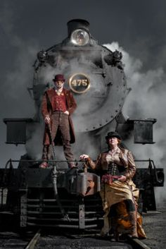 Steampunk...it's a subculture that's a little hard to explain. It's a combination of the aesthetics and technology of the Victorian era, the future and even the Wild Westhttp://www.witf.org/arts-culture/2014/09/steampunk-unlimited-at-strasburg-railroad.php