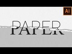 Illustrator Herramientas Torn Paper Effect in Illustrator Web Design, Graphic Design Tutorials, Tool Design, Design Process, Vector Design, Design Trends, Photoshop For Photographers, Photoshop Photography, Do It Yourself Design