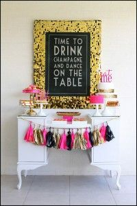 Fabulous 40th Birthday Party {celebrate it} - Tip Junkie