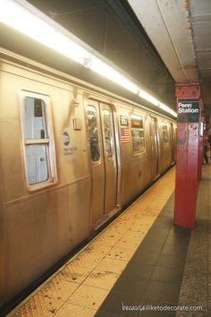New York City subway - Penn Station