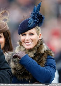 Zara Phillips Tindall, March 12, 2015 in Jane Taylor | Royal Hats