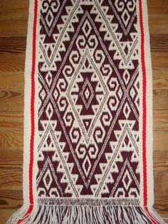 Diseño tradicional mapuche