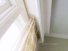 About the Dining Room Cornice - Back Porch Musings