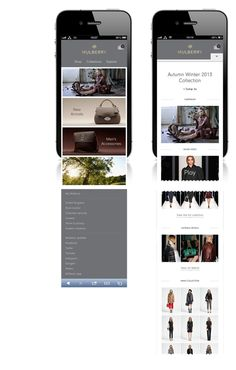 Creative company Poke London has re-designed luxury retailer Mulberry's website. The new site is designed to be easier to navigate, faster and more responsive.