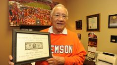 During his time as the executive secretary of IPTAY, George Bennett founded some of Clemson's most honored traditions, such as the Welcome Back Festival and the $2 bills.
