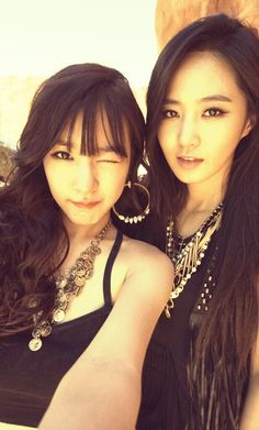 Yuri and Tiffany of Girls' Generation. Sooyoung, Yoona, Kim Hyoyeon, Korean Women, Korean Girl, Asian Girl, Korean Idols, Korean Style, Girls Generation