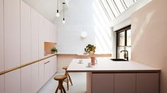 fuckin' beautiful pink kitchen