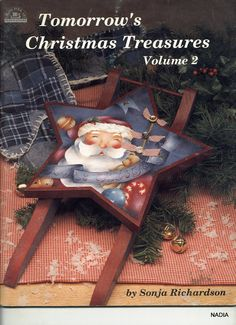 Tomorrow´s Christmas Treasures by Sonja Richardson, vol 2 - Nadieshda N - Picasa Web Albums Primitive Christmas, Christmas Books, Christmas Crafts, Xmas, Pintura Country, Painted Books, Hand Painted, Album, Tole Painting Patterns