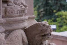 Details in the architecture at St. Catherine University in St. Paul, Minnesota!