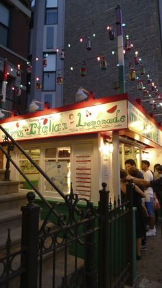 Mario's Italian Lemonade in University Village. #summer_time #fun_things_to_do