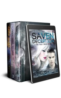 "Title:  Saven Box Set Series:  Saven #1, #2 and #2.5 Genre:  Science Fiction Romance Age category:  Young Adult Release Date:  October 11, 2016  Descriptive Blurb:  ""Recommended to fans of The 5th Wave, Insignia, Across the Universe, and Unwind series."" Schuyler Central High School Library  ""The Heir to the Lux Series."" Dreamland Teenage Fantasy  This box set contains 'Saven Deception', 'Saven Disclosure', and 'Saven Denial'. For a very limited time you can read the first three books in…"