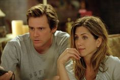 """Jennifer Aniston and Jim Carrey in """"Bruce Almighty"""" (2003)"""
