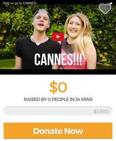 We need YOUR help to go to Cannes! Check out our newest video amazing news  donate now: gf.me/ksx2  #gofundme #shortfilm #cannes #cannes2016 #cannesfilmfestival #shortfilmfestival #fundraiser #creators #consciousculture #metaphysicalart #shortfilmcorner #gofundmedonations #gofundmecampaign #donate #travel #creativeentrepreneurs #bowjour