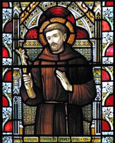 Happy Memorial of St Francis of Assisi – October 4 #pinterest #stfrancis In 1219, he went to Egypt in an attempt to convert the Sultan to put an end to the conflict of the Crusades. By this point, the Franciscan Order had grown to such an extent that its primitive organizational structure was no longer sufficient. He returned to Italy to organize the Order. Once his community was....... Stained Glass Church, Stained Glass Art, Stained Glass Windows, Catholic Art, Catholic Saints, Roman Catholic, Feast Of St Francis, Francis Of Assisi, Religious Images