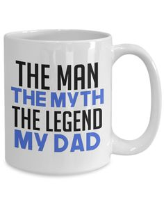 Great Gifts For Men, Gifts For Dad, Star Coffee, Coffee Mugs, Just Because Gifts, Funny Fathers Day, Dad Mug, Teacup, The Man