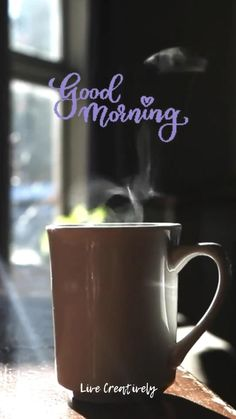 Morning Live, Morning Words, Good Morning Coffee, Good Morning Images, Coffee Time, Coffee Mugs, Coffee Clutch, Rose Flower Arrangements, Coffee World