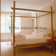 I love this bamboo bed! I love this bamboo bed! Bamboo Furniture, Cheap Furniture, Luxury Furniture, Home Furniture, Furniture Design, Furniture Buyers, Street Furniture, Furniture Stores, Pb Teen Bedding