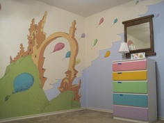 oh the places you'll go nursery