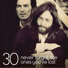 Never forget the ones you've lost, even if you didn't know them personally. They've made an impact, and for that, they deserve to be made immortal in our thoughts.