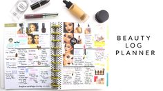 Beauty Log HappyPlanner