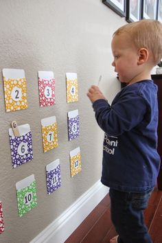 Toddler Approved!: Number Pocket Game for Toddlers and Preschoolers