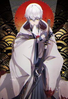 Pinterest Manga Boy, Manga Anime, Anime Art, Anime Boys, Touken Ranbu, Samurai, Anime Kimono, Story Arc, Guy Drawing