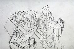 Constructor - Detail by Mike Moore, via Flickr.  I've always liked mike's drawings.