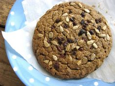 Post image for High Protein Giant Breakfast Cookies.   (Flour-less/Grain/Sugar/Egg Free)