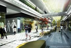 CGarchitect - Professional 3D Architectural Visualization User Community | shopping mall interior