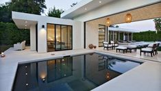 Designer Martin Kobus was able to create a luxurious feel inside and out with this one-of-a-kind wraparound home.