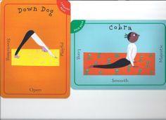 down dog cobra best yoga poses for kids kid child children yoga pretzels flashcards PragmaticMom