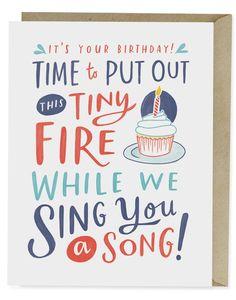 Tiny Fire Card