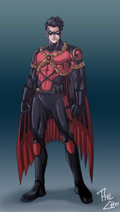 Red Robin - New 52 by phil-cho@deviantART