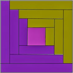 half square triangle Last time we talked about the log cabin block functioning as a half triangle block. We're going to show yo...
