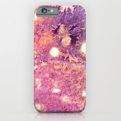 Noël rose -pink Christmas iPhone & iPod Case  #light,#pink,#Christmas,#winter,#frost,#textures,#bokeh,#abstract