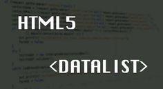 Como usar uma datalist em HTML5 - Out4Mind