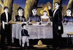 Niko Pirosmani - Family feast, 1907. WikiArt.org