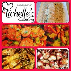 Variedad de combinaciones by Michelles Catering de PR 787-299-1380