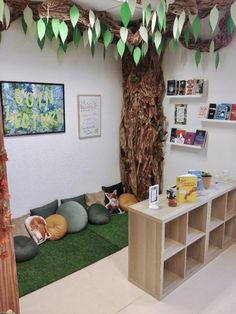 Reading corner in classroom Coin lecture ! Reading corner in classroom,Einrichtung Coin lecture ! Reading corner in classroom Related posts:DIY Nature Suncatcher Craft for Kids - Where Imagination. Eyfs Classroom, Classroom Themes, Forest Theme Classroom, Preschool Classroom Layout, Space Classroom, Creative Classroom Ideas, Classroom Storage Ideas, Classroom Decoration Ideas, Rainforest Classroom