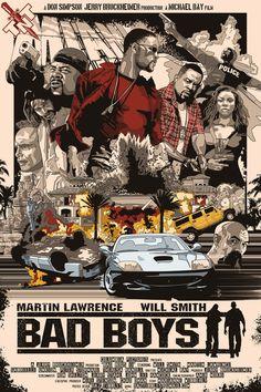 "Bad Boys II - movie poster - Darren ""Daz"" Tibbles"