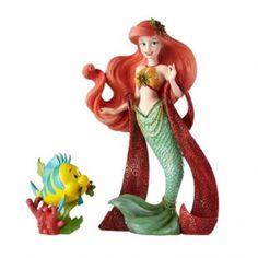 d/écoration Disney officielle Disneyland Paris Boule de No/ël Princesse Ariel Plume