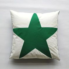 Stars Recycled Sail Pillow