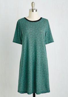 Carefree Ride Dress in Fronds | Mod Retro Vintage Dresses | ModCloth.com