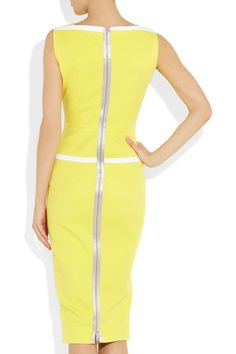 Yellow Victoria Beckham Dress.
