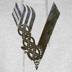 viking symbol hoodie
