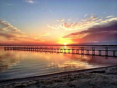 Good Morning Sunrise over Choctawhatchee Bay.  Photo credit - L. Lowe Hamilton
