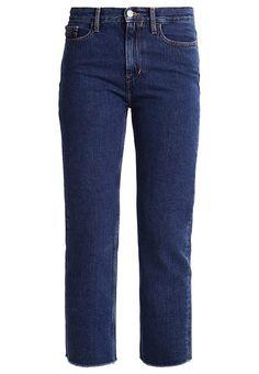 bestil  Calvin Klein Jeans HIGH RISE STRAIGHT CROPPED STONEY - Jeans Straight Leg - denim til kr 799,00 (29-03-17). Køb hos Zalando og få gratis levering.