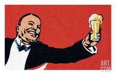 Cheers Art Print by Pop Ink - CSA Images at Art.com