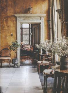"Screen ShAxel Vervoordt-'s-Gravenwezel-Castle-Belgium-Elle Decoration ""Country""issue-Winter 2015-Michael Paulot 2015-07-01 at 11.10.59 AM"